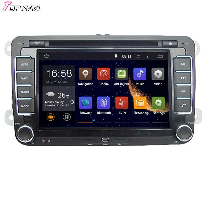 Lecteur DVD de voiture Topnavi 8 ''Quad Core Android 6.0 pour VW SAGITAR/JATTA/JETTA/MAGOTAN/PASSAT B6/MAGOTAN V6/PASSAT V6/PASSAT V6/PASSAT NMS GPS