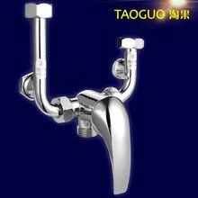 Сплав общие электрический водонагреватель смесительный клапан U типа смесительный клапан смеситель для душа кран горячей и холодной смеситель кран