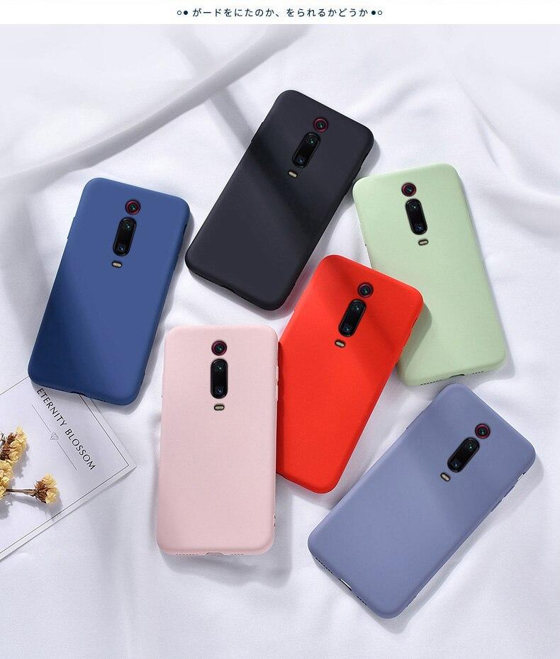 Soft Liquid Silicone Slim Skin Protective Back Cover Case for Xiaomi Mi Phones 5