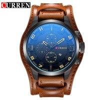 2017 Curren Watches Men Brand Luxury Leather Quartz Watch Men S Fashion Casual Sport Male Clock
