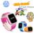Niños gps smart watch reloj sos llamada localizador localizador dispositivo de Seguimiento para el Bebé Seguro Anti Perdido Regalo Monitor de 1.0 pulgadas Q60