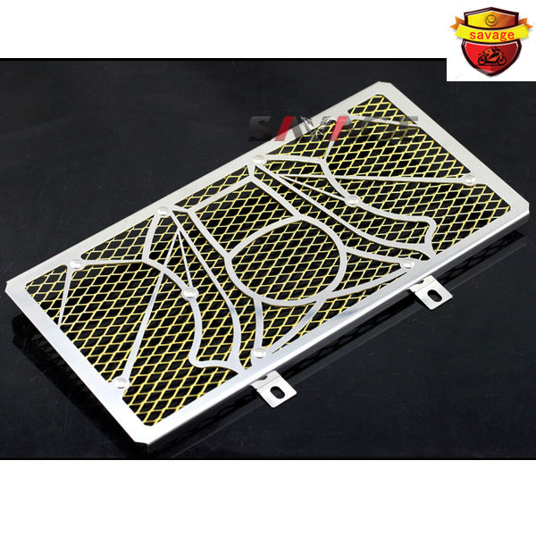 For KAWASAKI ER-6N ER-6F ER6N ER6F NINJA 650R 2012-2014 Motorcycle Radiator Grille Guard Cover Protector Tank Protection Net motorcycle radiator grille grill guard cover protector golden for kawasaki zx6r 2009 2010 2011 2012 2013 2014 2015