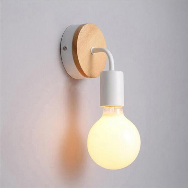 Lâmpadas de Parede de madeira da parede do Direção da Sombra : Acima & Abaixo