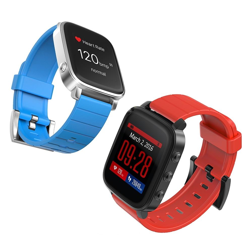 SMA TIME Bluetooth 4 0 Heart Rate Monitor Wristband Sleep Track Stopwatch Timer Alarm Smart Watch