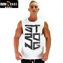 2017 Men Summer gyms Fitness bodybuilding Hooded Tank Top fashion mens clothing Loose breathable sleeveless shirts Vest