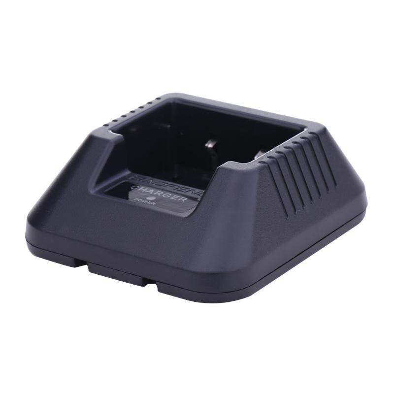 Двухстороннее радио зарядное устройство с зарядным индикатором зарядная док-станция для BaoFeng 5R серии Walkie Talkie Li-Ion Battery