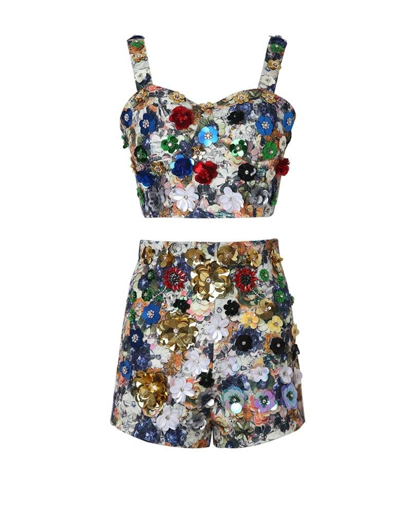 Partie Piste Européenne Femmes Ah03693 Design Vêtements Marque 2019 De Mode Célèbre Luxe Ensembles Style PqZZzx1