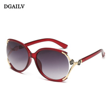 Fashion Flower Sunglasses Women Brand Designer Luxury Sun Glasses Infantil Oculo