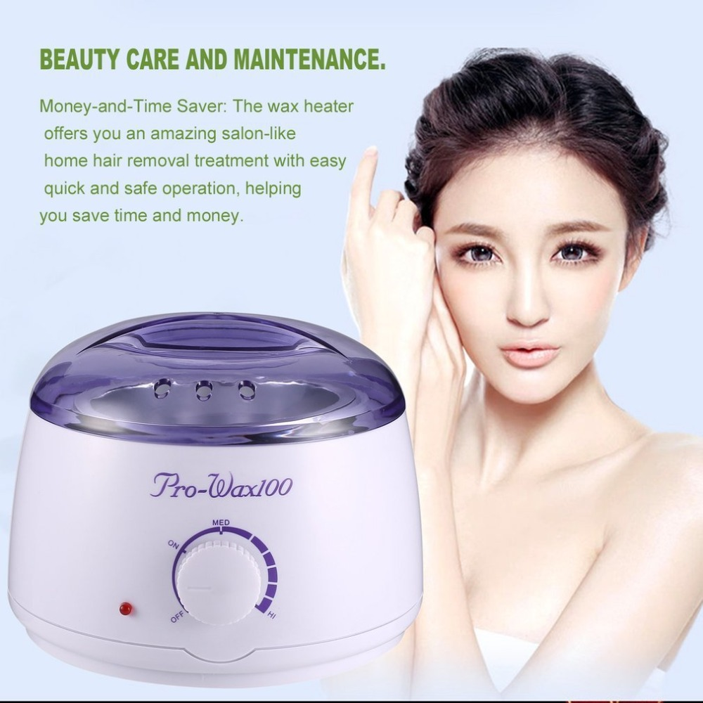 Wax Warmer Hair Removal Kit Electric Hot Wax Heater for Body Beauty with Hard Wax Beans Wax Applicator Sticks top sale Epilator цена 2017