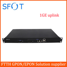 EPON GEPON OLT 2 PORTS suit for HUAWEI, ZTE, FiberHome ONU ONT free EMS