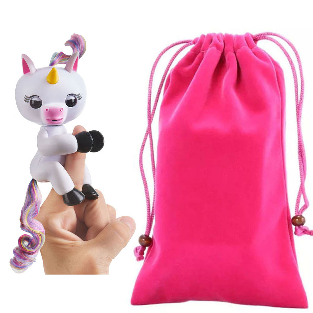 HIINST Dolls Accessories Bag Portable Kids Play Storage Toys Rug Box For Fingerling Unicorn Drop Ship Oct30 P30