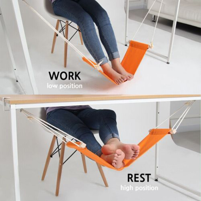 portable mini office foot rest stand desk feet hammock easy to disassemble home study library  fortable outdoor indoor in hammocks from furniture on     portable mini office foot rest stand desk feet hammock easy to      rh   aliexpress