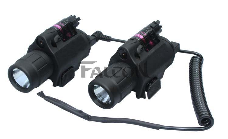 Airsoft Hunting Laser Sight Tactical Pistol Rifle Laser Sight Military Red Dot Laser Sight Bright Led Flashlight