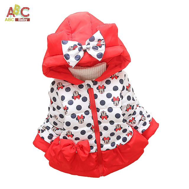 Girls Clothing Outerwear Coats Winter Cotton Child Cardigan Kids Girl Baby Jackets Brand Denim Worsted Full hooded Clothes Coats