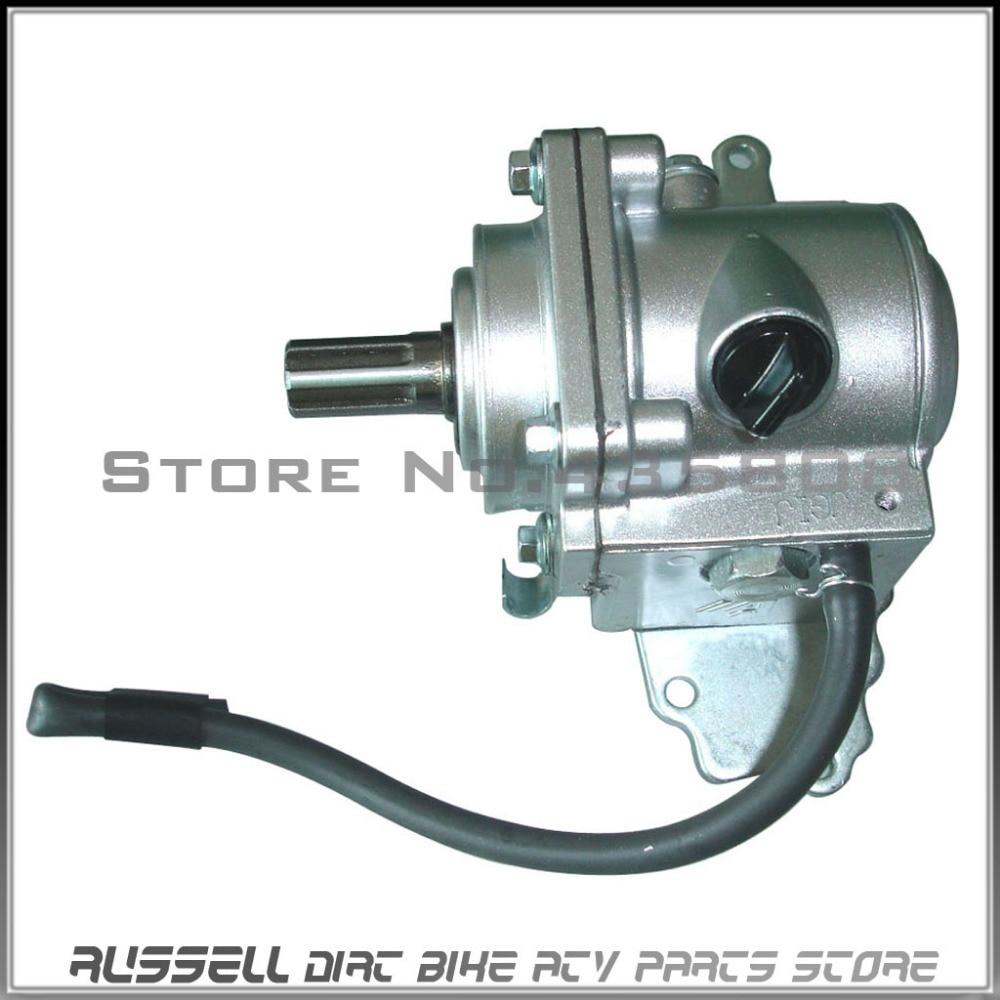 ФОТО ATV Reverse Rear axle Gear Box Assy drive by shaft reverse gear transfer case 110CC 150cc 200cc 250cc ATV