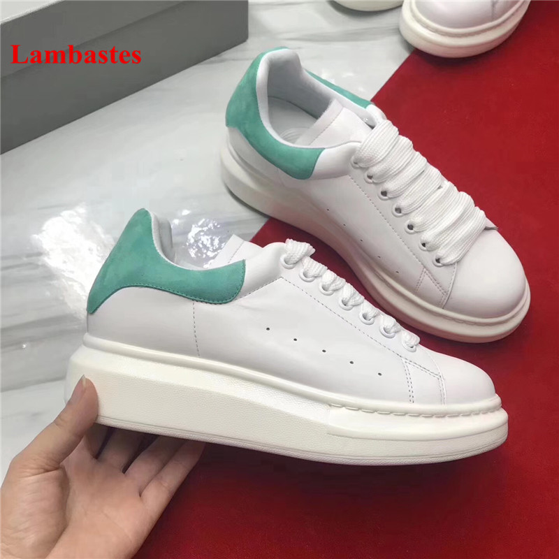 2018 New White Shoes Women Round Toe Lace Up Suede Patchwork Brand Designer Women Sneakers Flat Platform Cozy Flats Shoes Mujer lace up suede round toe platform shoes