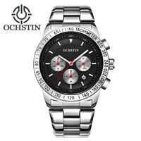 2018 OCHSTIN Men's Fashion Sport Watches Men Quartz Analog Date Clock Man Full Steel Military Waterproof Watch Relogio Masculino