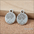 120pcs  vintage  life tree   charm   Antique silver  Pendant  DIY European Style Jewelry Making B292
