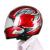 V6-1200 Motocicleta Accesorios de la Motocicleta Del Casco de Bluetooth Intercom Auriculares Inalámbricos Suave Seis Personas Intercom EE.UU. Plug 2017
