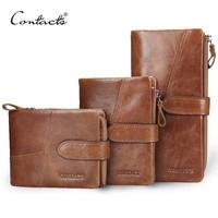 Classical Retro Luxury Genuine Leather Women Men Wallets High Quality Brand Design Zipper Wallet Womens Purses