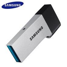 SAMSUNG USB Flash Drive USB3.0 32GB Disk OTG Metal Super Mini Tiny Pendrive Memory Stick For desktops laptops smartphones tablet