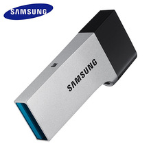 SAMSUNG USB Flash Drive USB3.zero 32GB Disk OTG Steel Tremendous Mini Tiny Pendrive Reminiscence Stick For desktops laptops smartphones pill