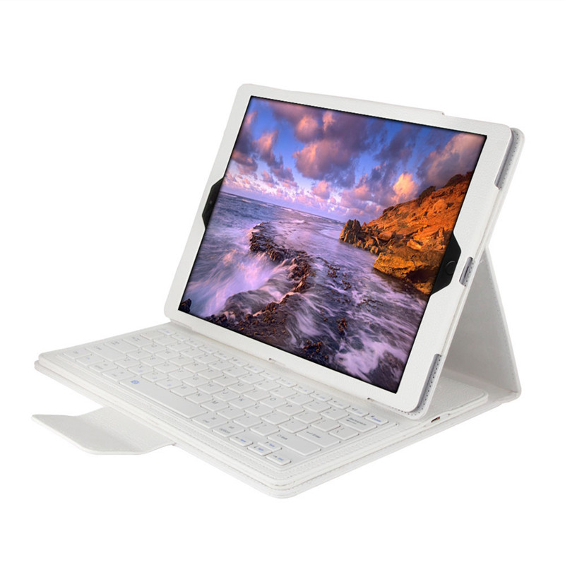 Luxury Case for iPad Pro 12.9 Wireless Bluetooth Keyboard Case for iPad Pro 12.9 2015 2017 Tablet Flip Leather Stand Smart Cover 2015 new detachable wireless bluetooth keyboard pu leather case stand cover for apple ipad pro 12 9 tablet shell
