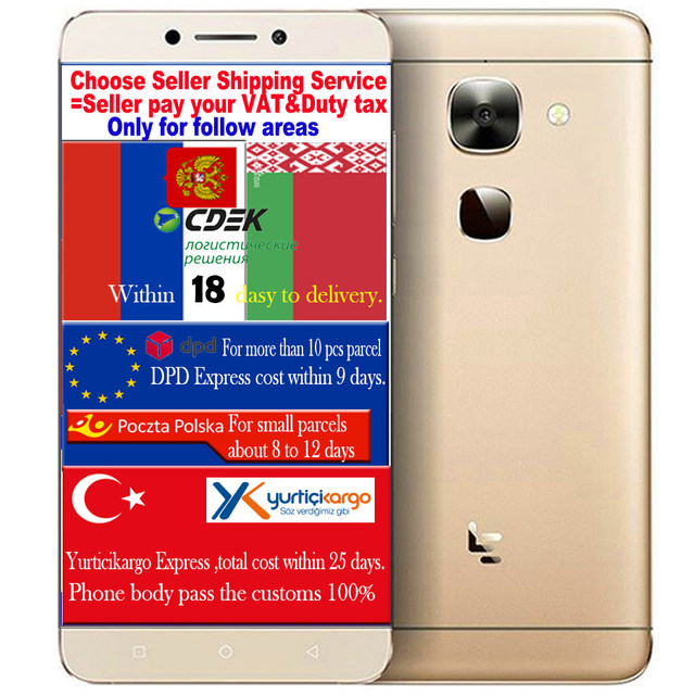 Original LETV LeEco MAX 2 LE MAX2 X820 smartphone Qualcomm Snapdragon 820 5.7 FHD mobile cell phone Android M OS 3100mAH Battery