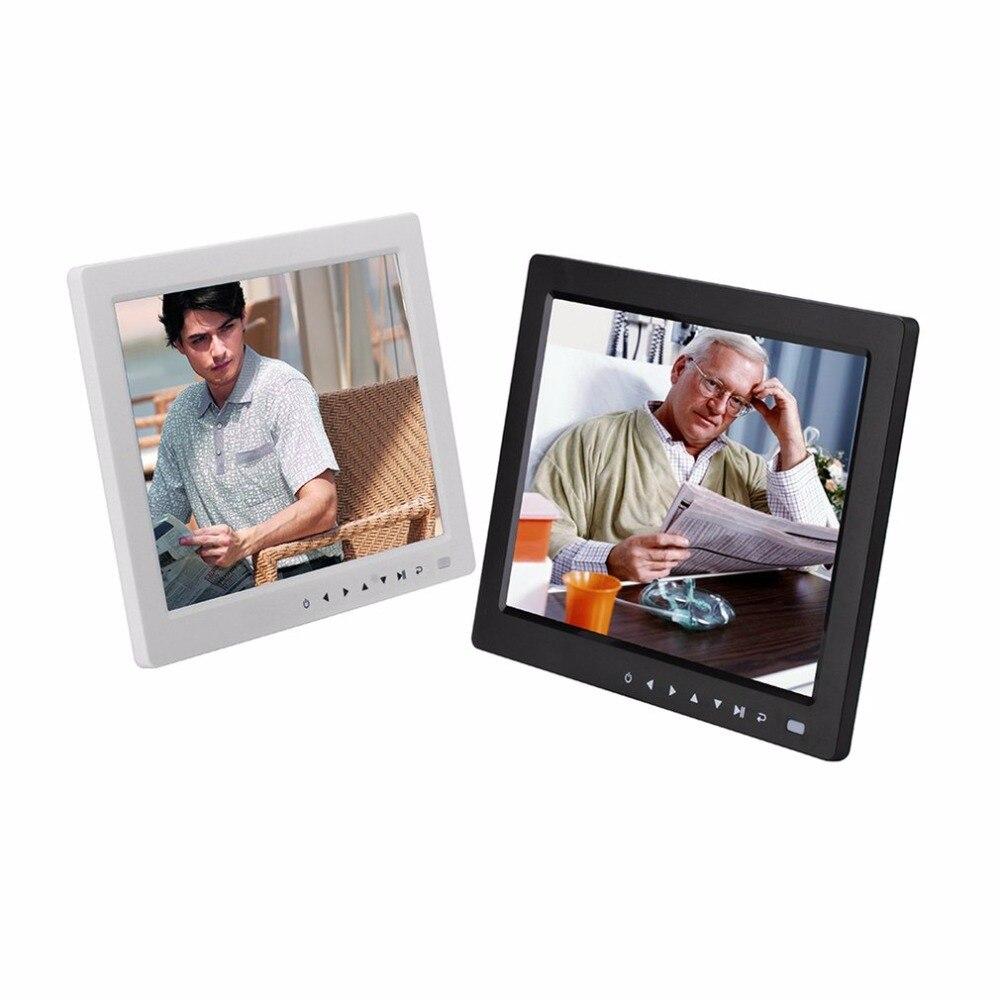 10 ''hd Tft Lcd Digital Picture Slideshow Di Foto Album Cornice Sveglia Musica Video Player Con Il Desktop Del Basamento Della Staffa