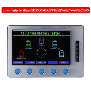 Image 2 - New Apple iPhone Battery Tester For iPhone XR XS XS MAX X 8 8P 7 7P 6S 6SP 6 6P 5 5S 4S Battery Checker a Key Clear Cycle
