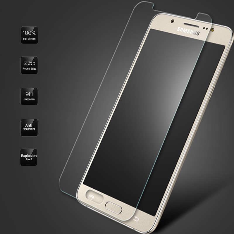 GerTong Tempered Glass For Samsung Galaxy J5 J7 J1 2016 2015 Grand Prime S5 Neo G903F S4 S6 Premium Screen Protector Film Cover