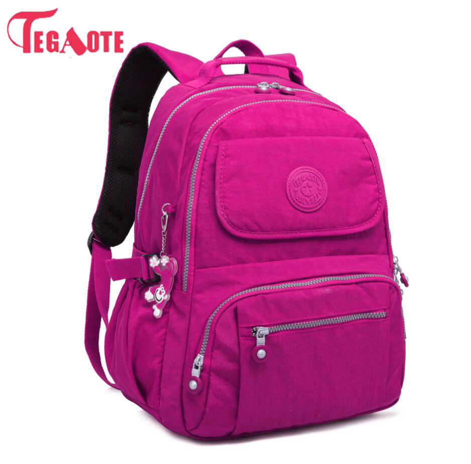 TEGAOTE Fashion Women Backpack High Quality Youth School Backpacks for Teenage Girls Female Shoulder Bag Bagpack mochila  Sac A