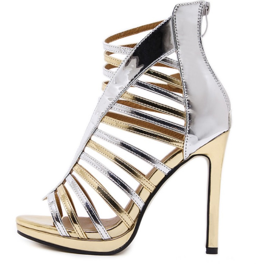 Gold Evening Heels Promotion-Shop for Promotional Gold Evening ...