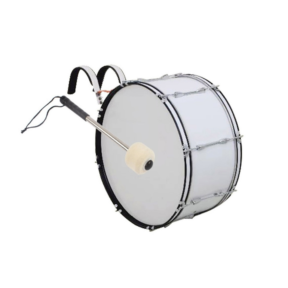 Professional Wool Felt Head Aluminium Alloy Hand Grip Army Drum Stick Bulging Drum Drums ...