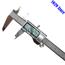 6 Inch 150mm Stainless Steel Electronic Digital LCD Caliper Vernier Caliper Micrometer Measuring Caliper