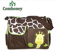 Diaper Bag For Mommy Baby Care High Capacity Maternity Mother Bag for Stroller Giraffe Newborn Toddlers Mummy Changing Nappy Bag