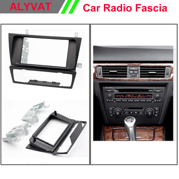 Top Quality Car DVD Radio Fascia for BMW 3-Series (E90/91/E92/E93) 2004-2012 Stereo Fascia Dash CD Trim Installation Kit