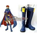 Fire Emblem The Sword of Flame Eliwood Cosplay Boots For Adult Halloween Shoes Custom Made D0820