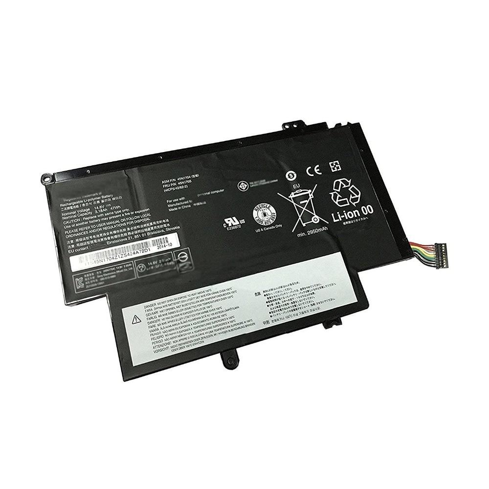 3.18ah 47wh Battery For Lenovo Thinkpad 12.5 S1 Yoga 20cds00800 20cds00700 20cds00500 Laptop 45N1704 45N1705 11 1v 94wh battery for lenovo thinkpad 45n1007 45n1006 t430 t430i t530 t530i w530 sl430 sl530 l430 l530 45n1010 45n1173 45n1001
