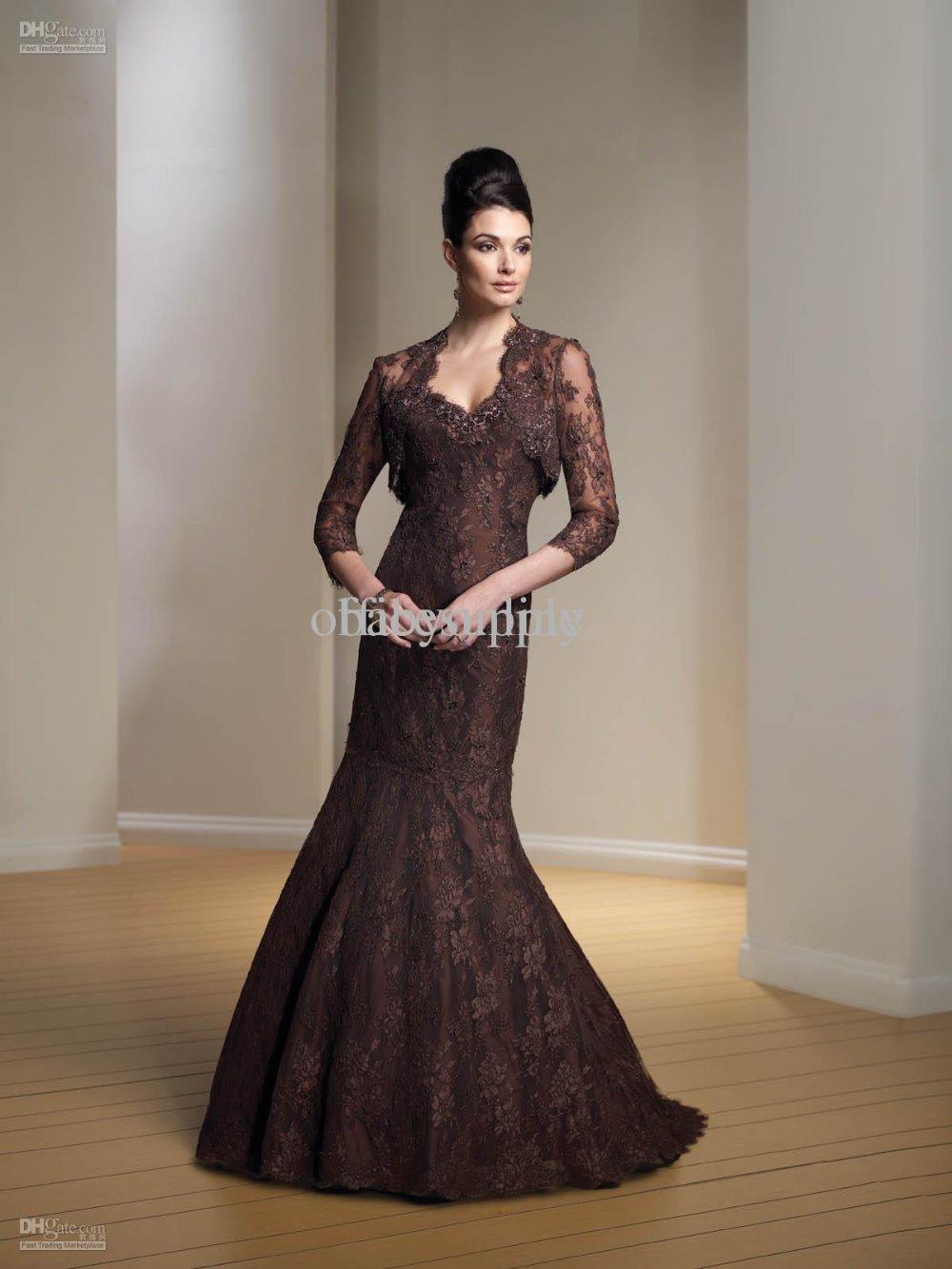 Beste Chocolate Brown Cocktail Dresses Fotos - Brautkleider Ideen ...