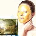 Hot 1 unids cristalina del colágeno del oro de las mascarillas Anti envejecimiento cuidado de la piel máscara Facial