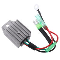 87 1 Pcs 4 Wires Boat Voltage Regulator Rectifier Fit Universal 2-Stroke 15HP Marine Boat Outboard 1.57x1.38x0.87? Aluminium Alloy (5)