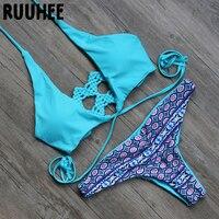 2016 Fashion Sexy Push Up Summer Beach Biquini Bathing Suit Women Swimsuit Swimwear Beachwear Bikini Set