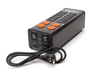 Image 5 - 2018/ TP1000 новый высококачественный аудио фильтр шума, 3000 Вт AC кондиционер, силовой фильтр, очиститель питания, светодиодный дисплей напряжения