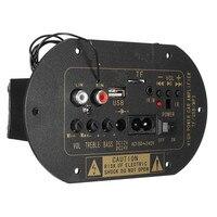 12V 24V Car Bluetooth HiFi Bass Power AMP Stereo Digital Amplifier USB TF Remote For Car