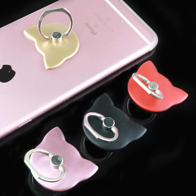 Jari Cincin Ponsel Stand Smartphone Holder untuk iPhone X 8 7 6 6S PLUS 5S Ponsel Pintar ipad MP3 Mobil Gunung untuk Samsung