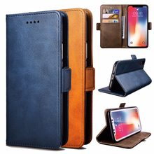 For Homtom S16 hone Case Luxury Leather Flip Wallet Bracket Simple Fashion Protective Cell Phone Cover for Homtom S16(China)