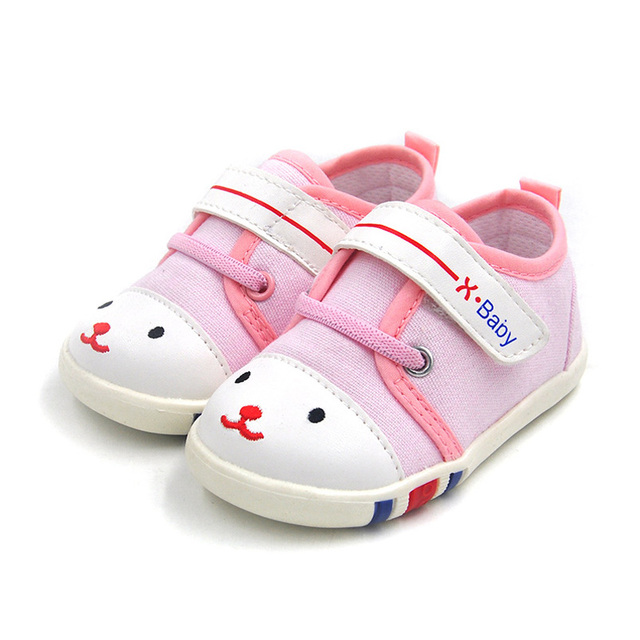 Cuna bebé lona shoes boys and girls casual shoes transpirable inferior suave antideslizante toddler shoes
