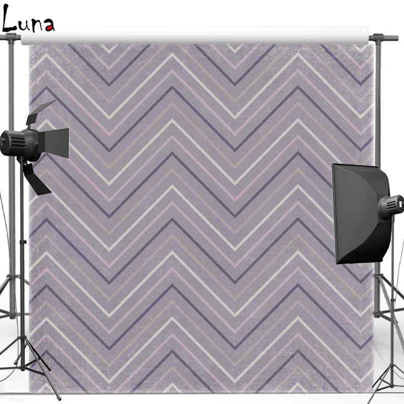 Photo backgrounds Gray Chevron pattern Vinyl Cloth Photography Backdrops for photo studio Free shipping F837 missoni for target travel tote colore chevron pattern