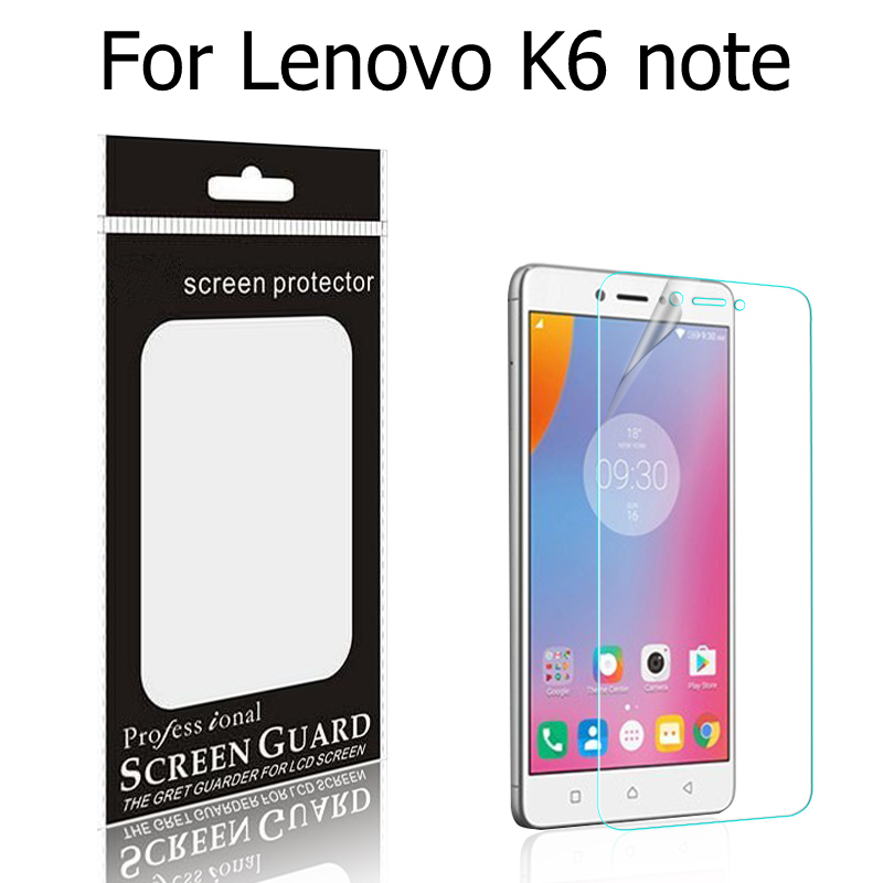 High Quality Anti-Scratches matte films & glossy film For Lenovo K6 Note screen film for Lenovo K6 Power Screen protective film